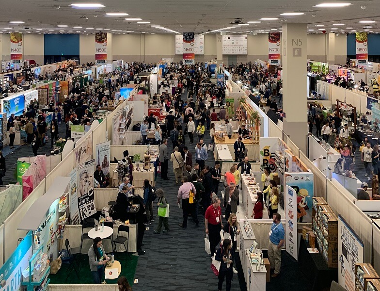 Natural Products Expo Westの会場を俯瞰